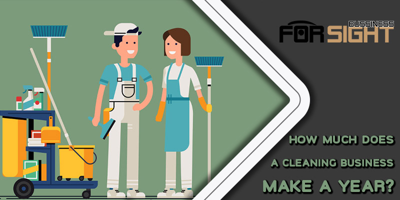 How Much Does A Cleaning Business Make A Year